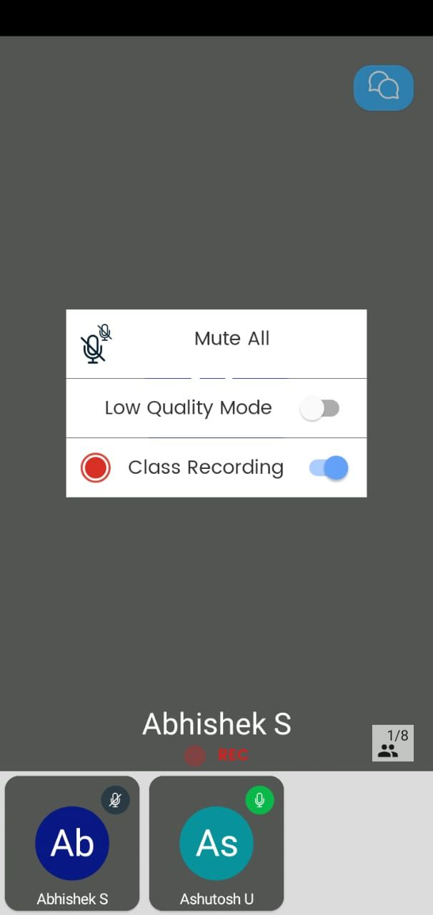 how to record classes