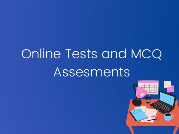 Online Tests and MCQ Assessments