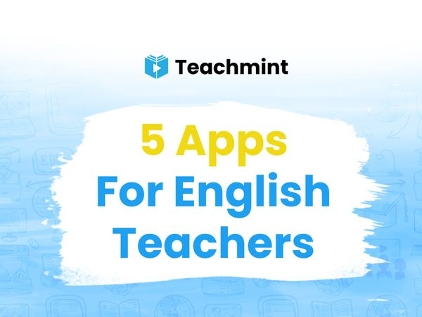 Five Apps for English Teachers