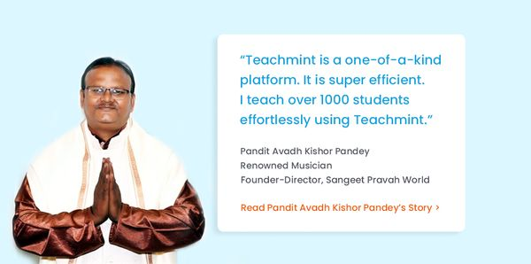 Conquering New Ragas with Teachmint