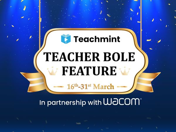 Teacher Bole Feature Contest