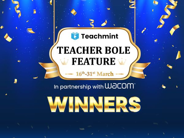 Teacher Bole Feature Contest Winners
